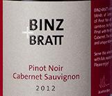 Binz & Bratt Pinot Noir – Cabernet Sauvignon 2015