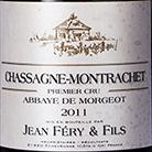 Chassagne-Montrachet 1er Cru - Abbaye De Morgeot 2014