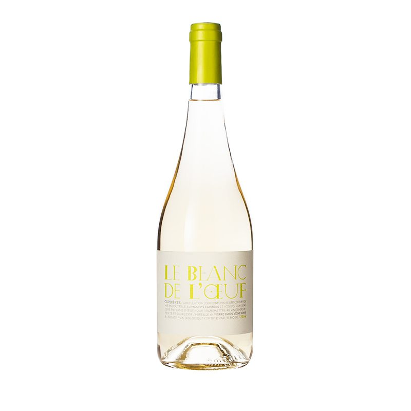 Corbieres Blanc – Le Blanc De Loeuf – Grenache Blanc En Macabeo