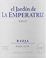 Rioja Crianza – El Jardin De La Emparatriz